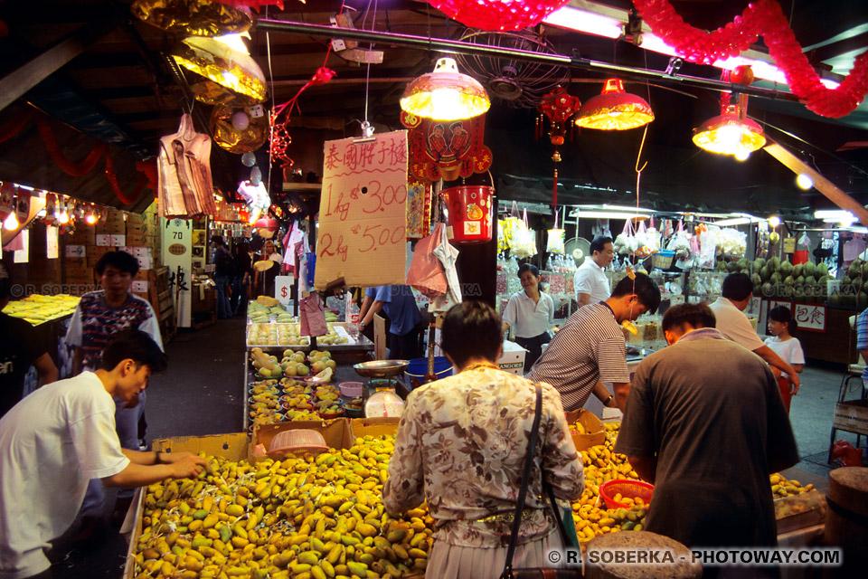 image et Photos de marchés photo du marché de nuit à Singapour