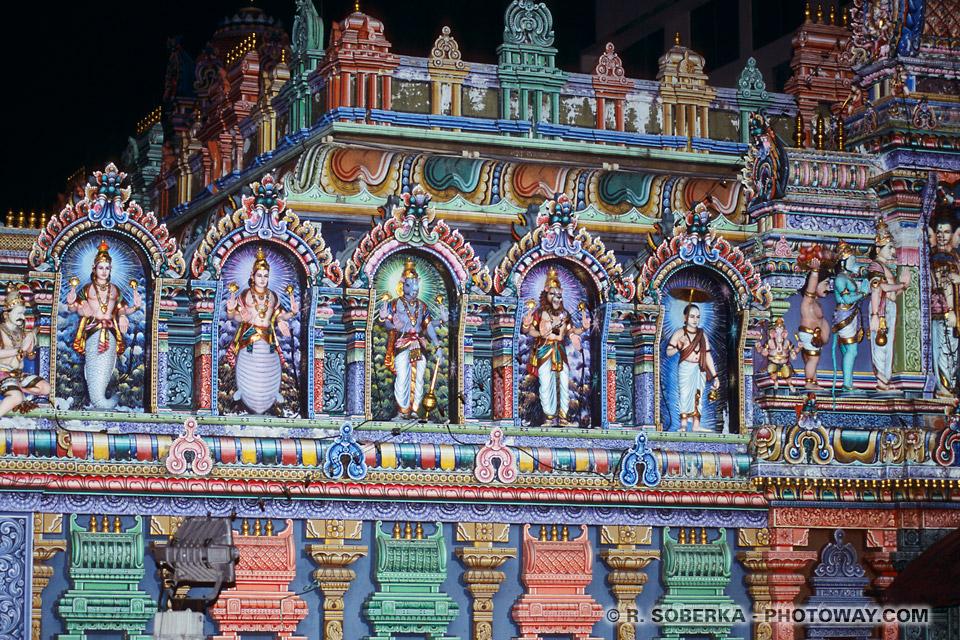Photos de temples hindous à singapour
