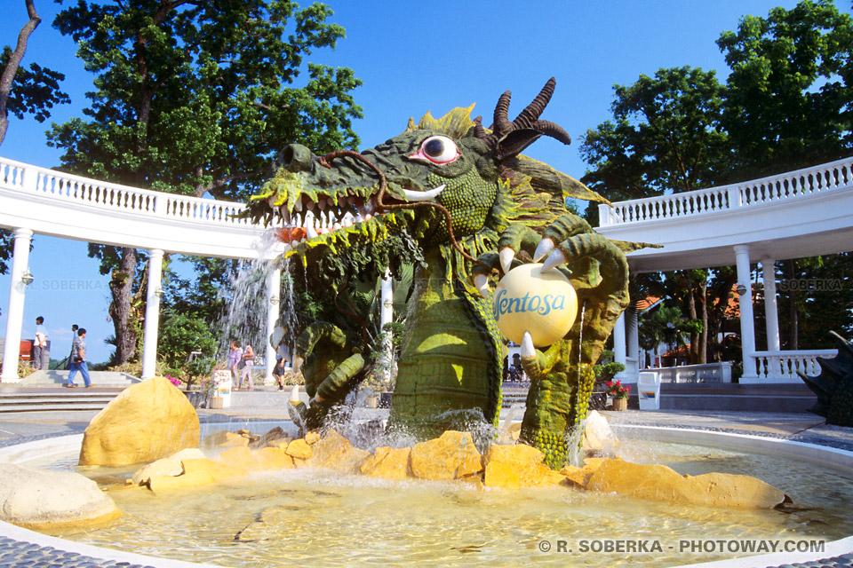 Photos de dragons, photo du dragon de Sentosa