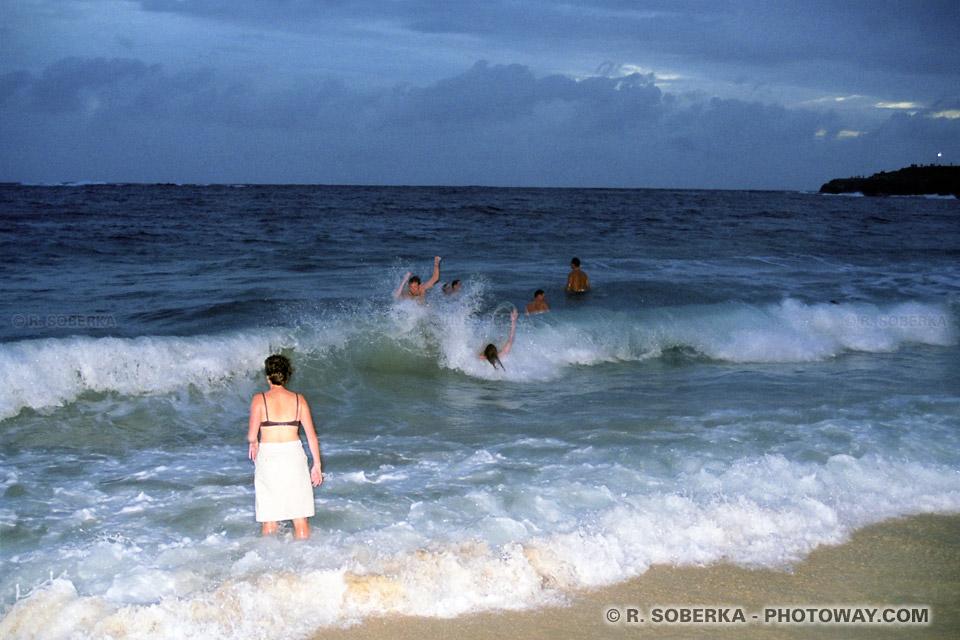 Photos de foule ivre photo à Cogee Beach à Sydney en Australie
