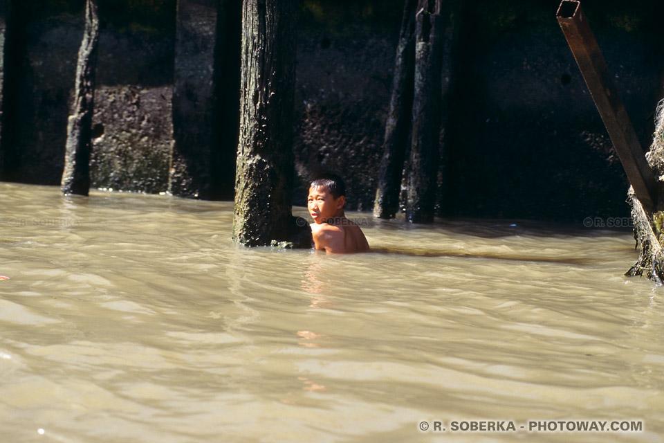 images Photos de gamins thaïlandais photo d'un gamin
