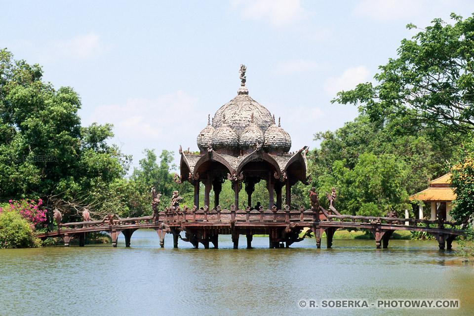 Images Photos de parcs photo parc en Thaïlande viste d'Ancient City