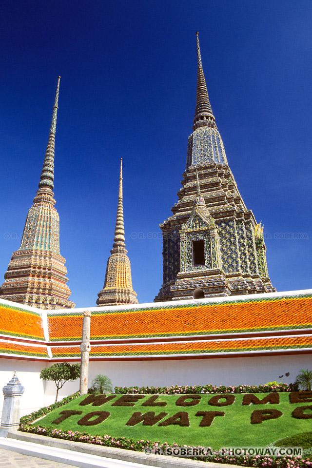 Image de tourisme à Bangkok visite de la ville