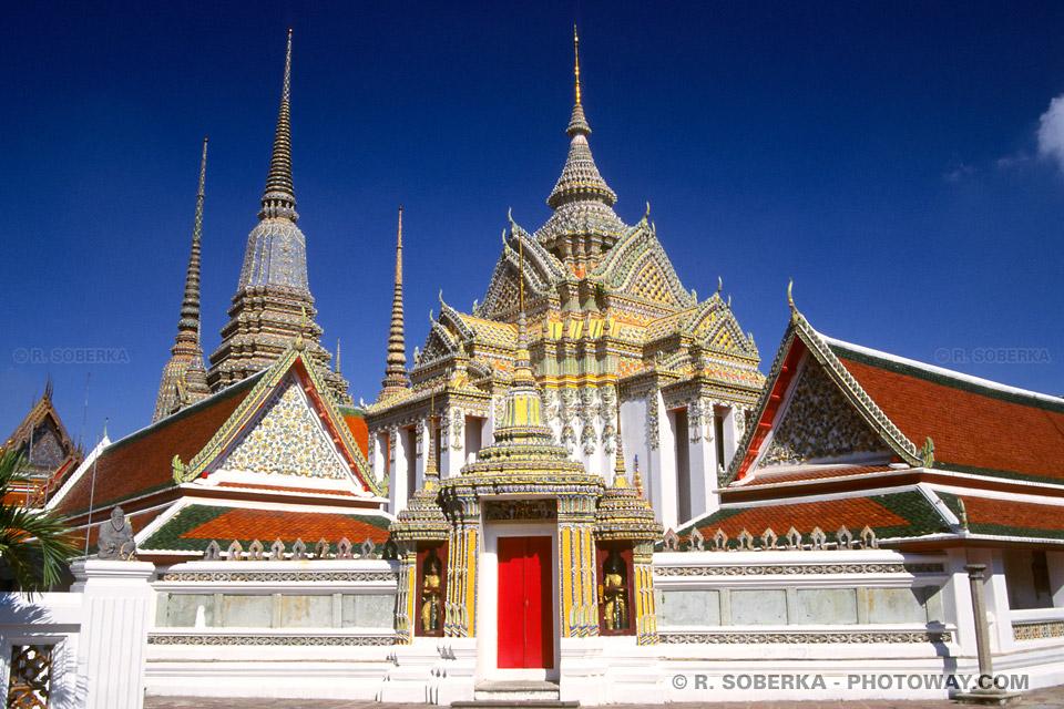 Photo de la ville de Bangkok capitale de la Thaïlande