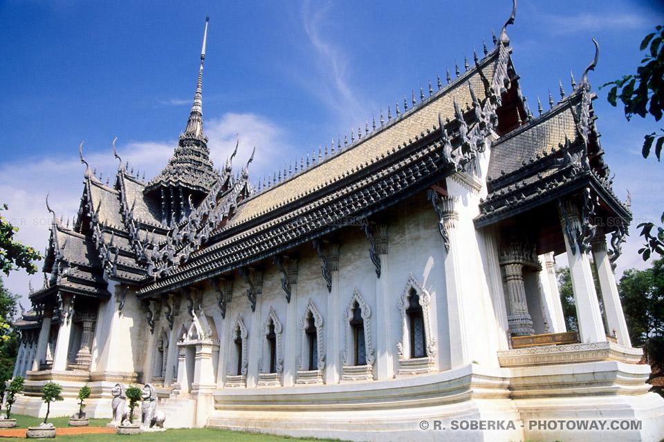 Informations sur les temples - petit guide de tourisme en Thaïlande