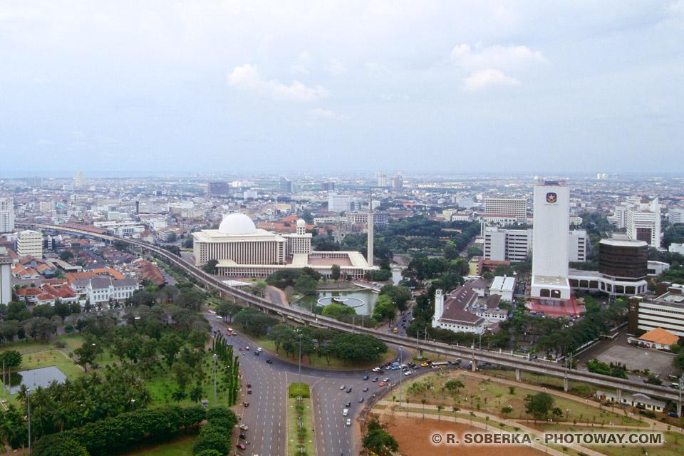 Image de Jakarta capitale de l'Indonésie