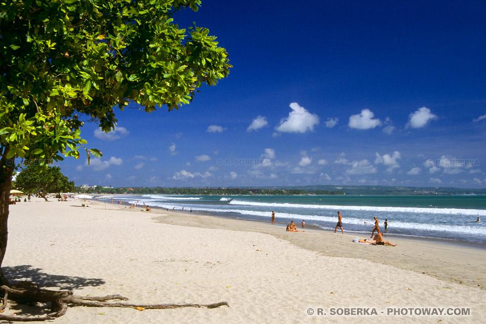 Photo de voyage à Bali à Kuta Beach et Legian en Indonésie