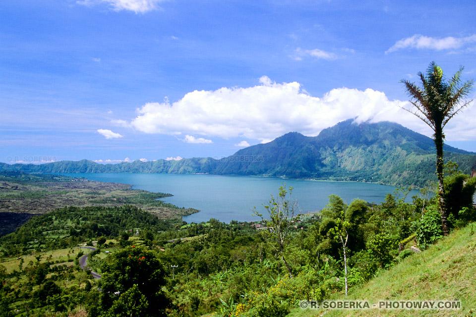Photos des lacs et Volcans de Bali