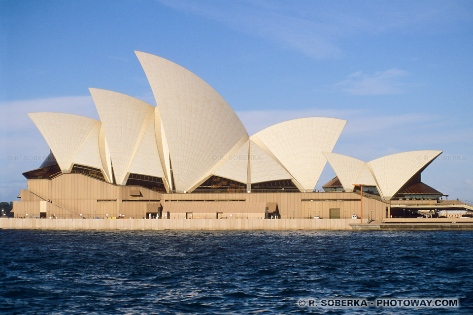 image de l'Opéra de Sydney photo de L'opéra de Sydney en Australie