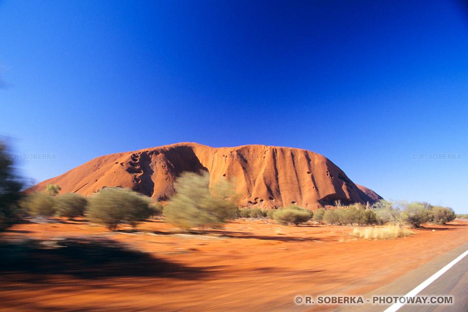 Tourisme en Australie visite d'Ayers rock