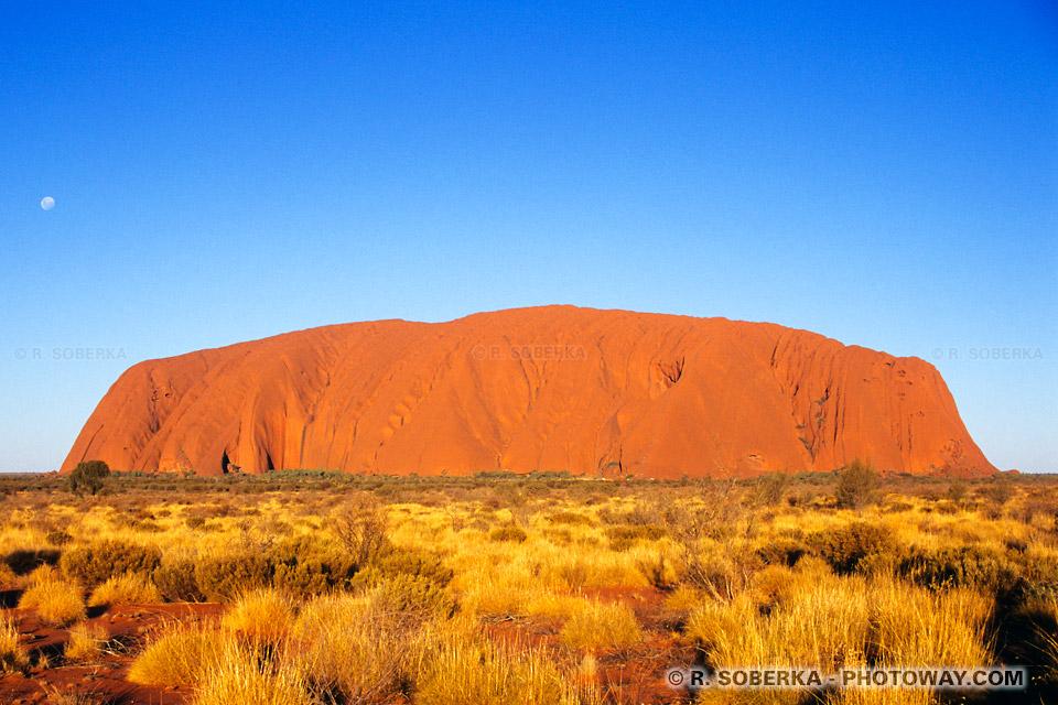 Photo de coucher de soleil dans le désert en Australie