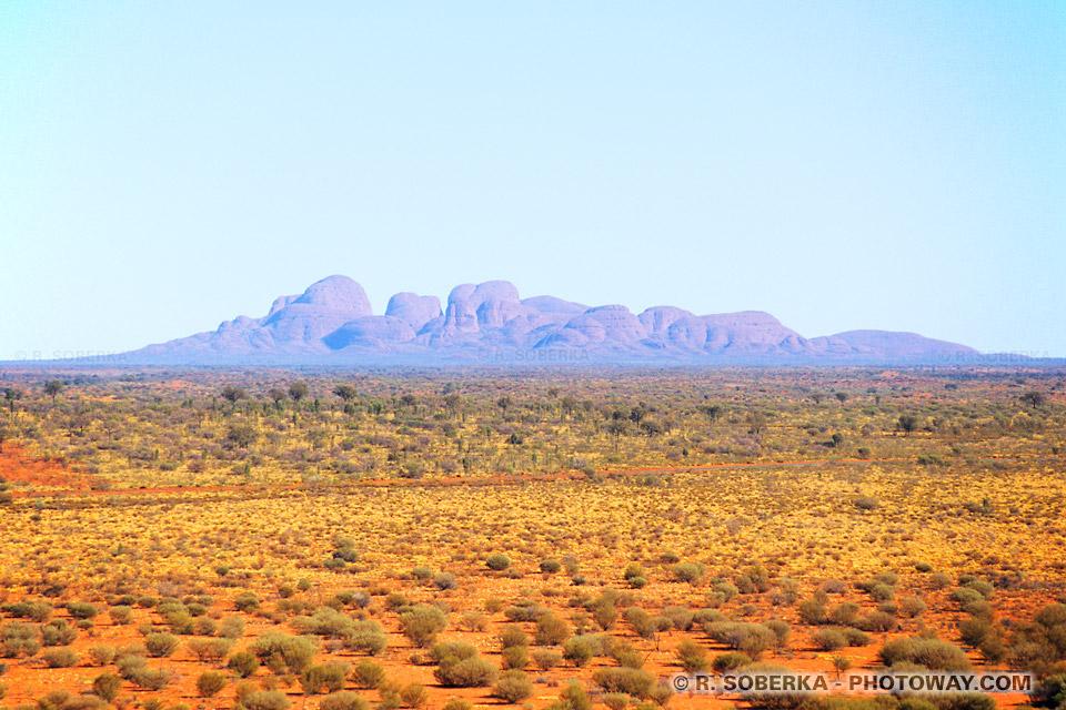 Photo du pays des Aborigène en Australie