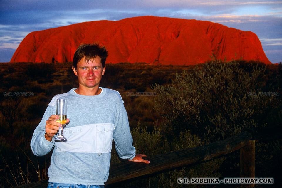 Photo d'une coupe de champagne australien