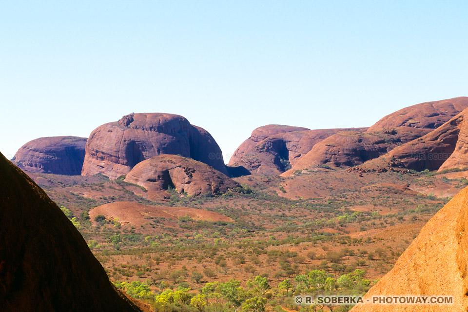 Photo de la vallée des vents - Ballade en Australie