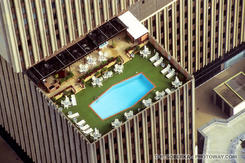 Photo de piscine sur le toit d'un immeuble de Sydney