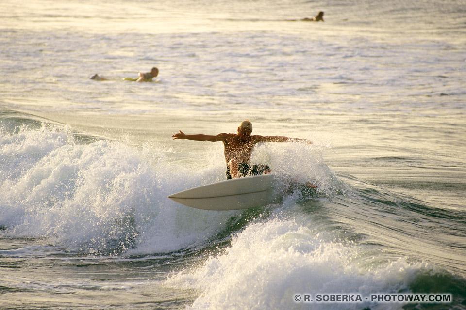 Photos d'un surfer venu de Surferparadise en Australie
