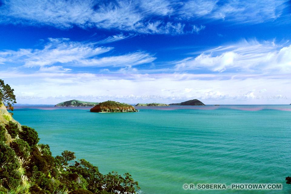 Photo de l'Océan Pacifique en Nouvelle-Zélande