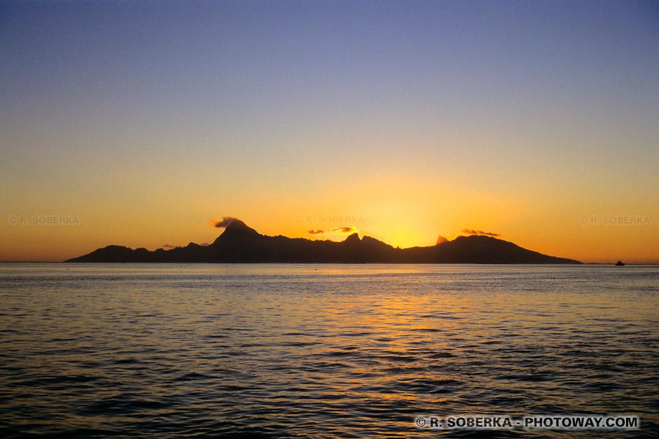 Photo de Moorea perle du Pacifique sud : image de voyage au paradis !