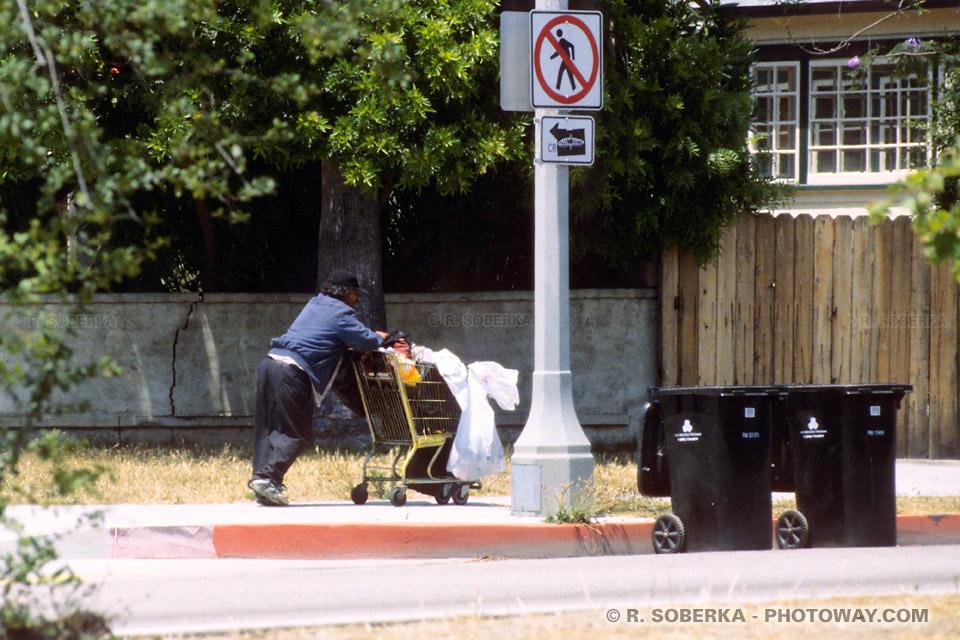 Photo de Homeless à Los Angeles guide de voyage en Californie