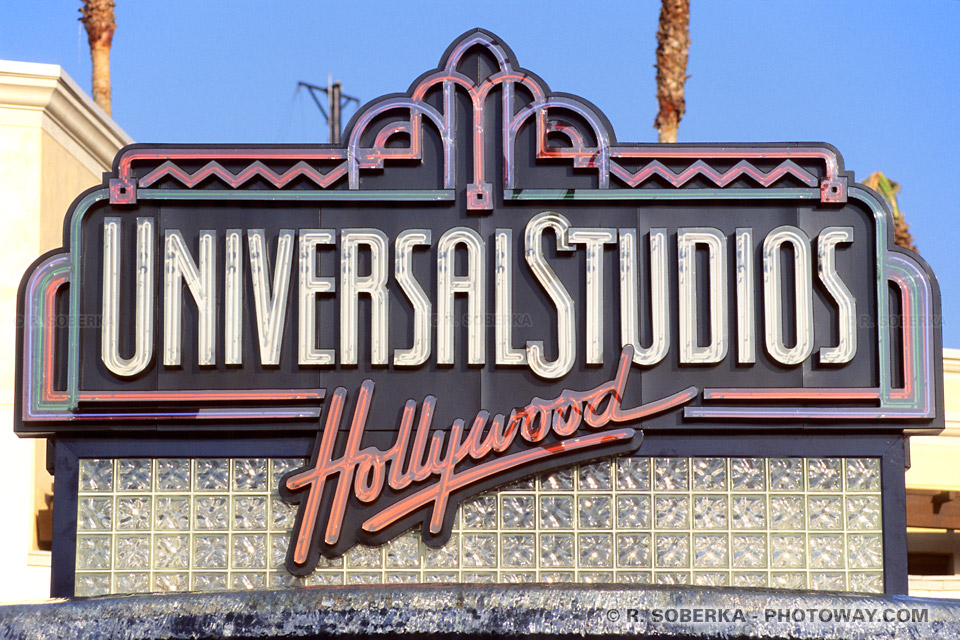 Photo de la viste des Universal Studios d'Hollywood en Californie