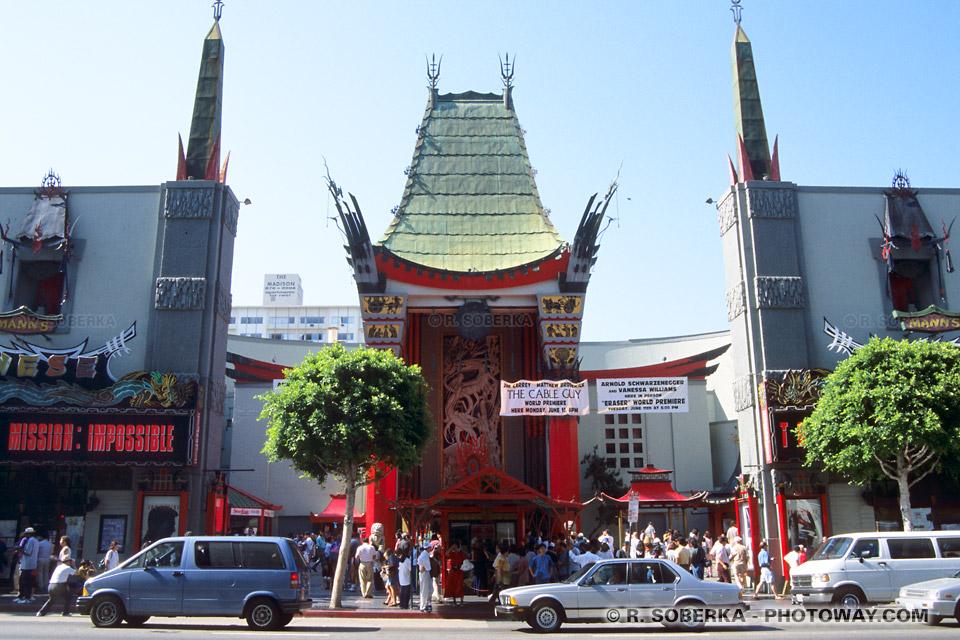 image de carte postale de Los Angeles et HollyWood en Californie