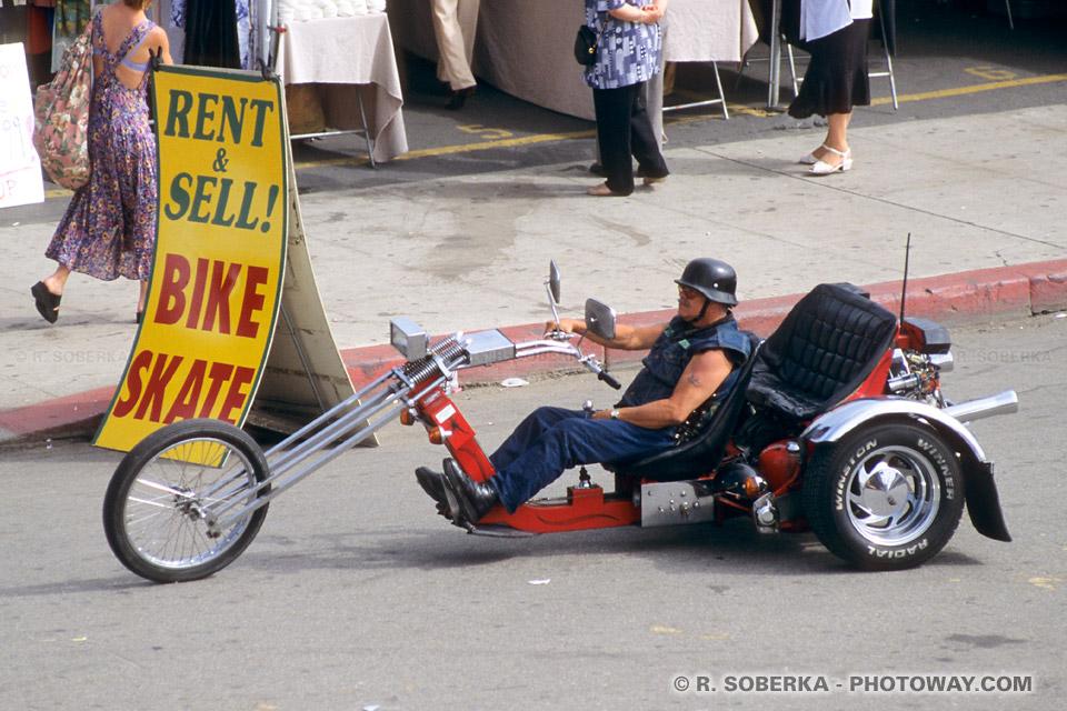 Photos de Bikers à Venice Beach en Californie Etats Unis