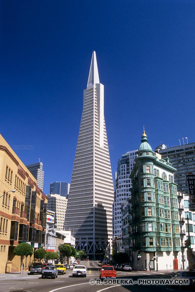 photo de la Transamerica Tower de San Francisco