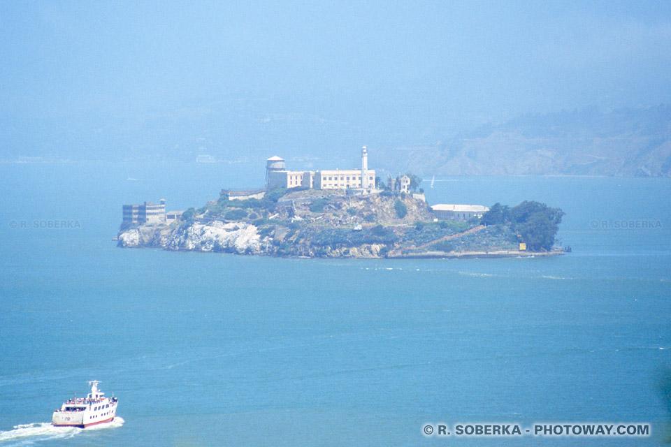 Photo de la prison d'Alcatraz à San Francisco