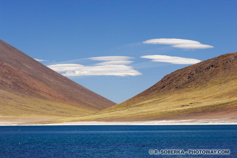 Nuages altocumulus lenticulaires - cordillère des Andes