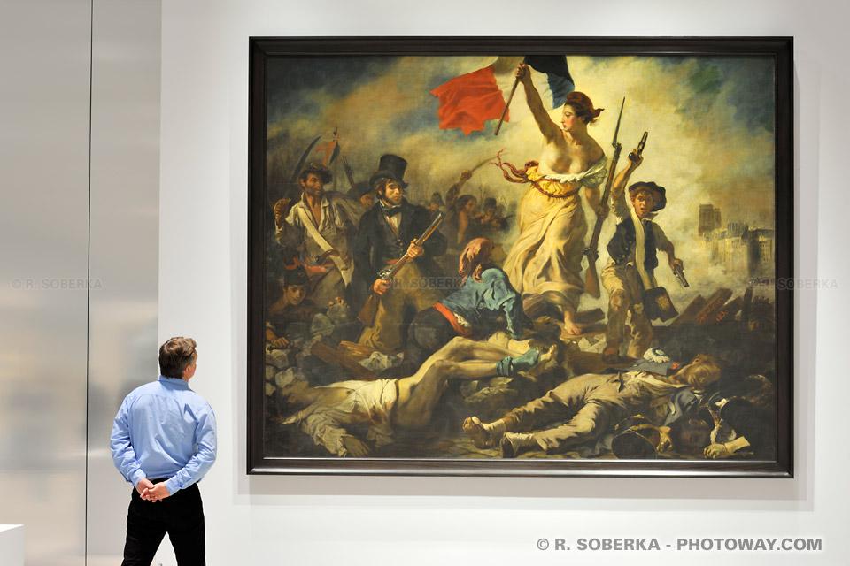 Tableau La Liberté d'Eugène Delacroix