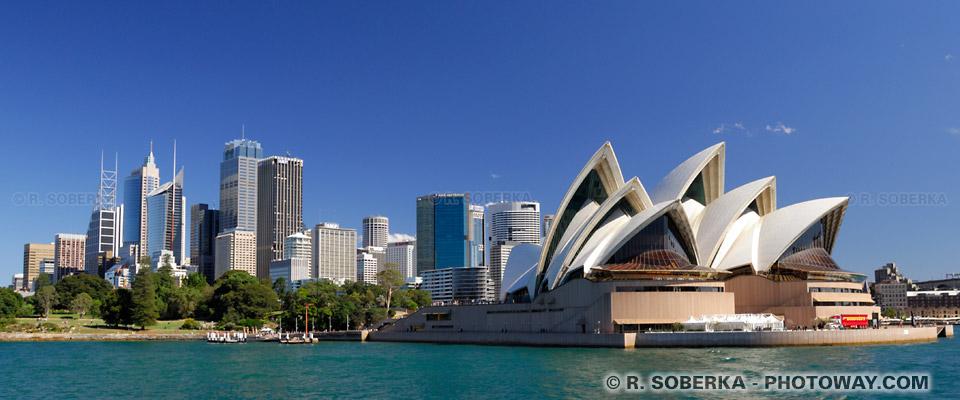 Opéra de Sydney et ville de Sydney