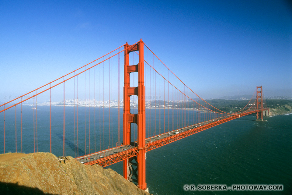 Pont de San Francisco : le Golden Gate Bridge